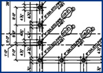 steel detailing drawings for construction building structure